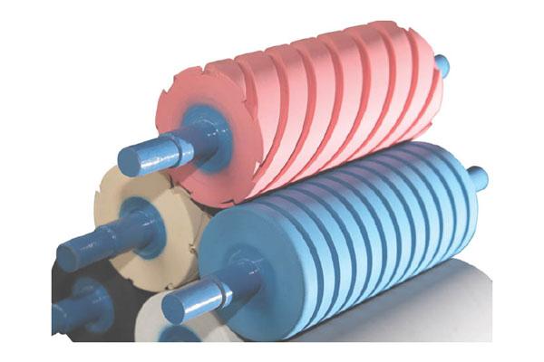 Spiral Rubber Roller